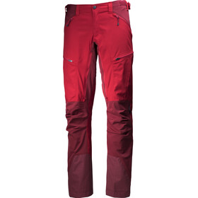 Lundhags Makke - Pantalones de Trekking Hombre - Regular rojo